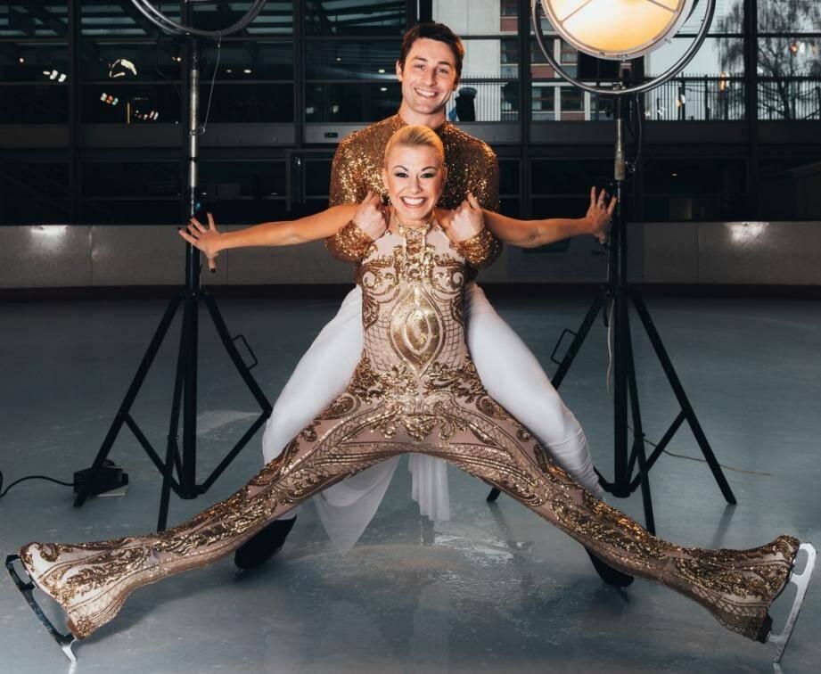 Brian Joubert et Katrina Patchett sont les vedettes du nouveau spectacle d'Holiday on ice, Atlantis.