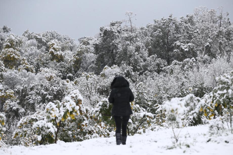 La neige va de nouveau tomber sur la Côte d'Azur.