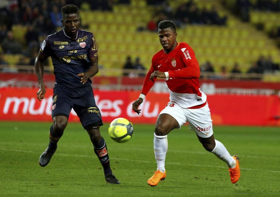 Keita Baldé a montré la voie à ses coéquipiers en marquant le premier but du match.