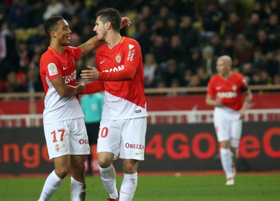 L'AS Monaco s'impose 3 à 2.