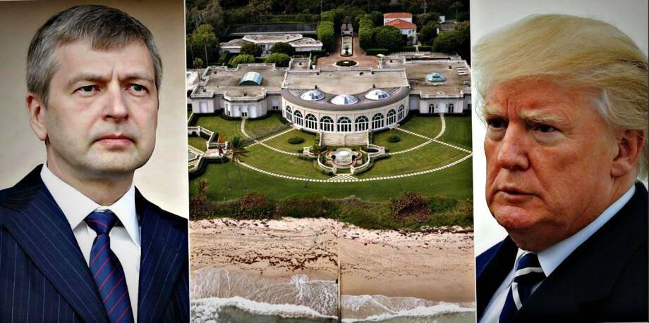 Achetée par Rybolovlev, la «Maison de l'Amitié» fait couler de l'encre.Selon le JDD, la plus-value réalisée par Trump l'aurait sauvé de la banqueroute.
