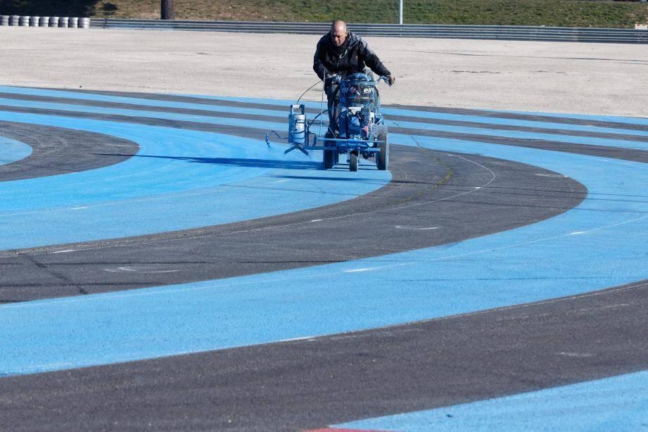 Il ne manque plus que les tribunes pour sceller le nouveau départ du Grand Prix de France de F1.