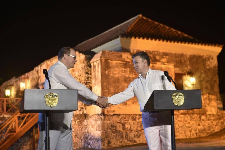 Le prince Albert II est arrivé ce dimanche, 18 mars, en Colombie pour sa première visite officielle dans ce pays.