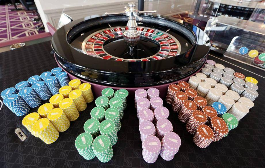 Illustration d'un casino.