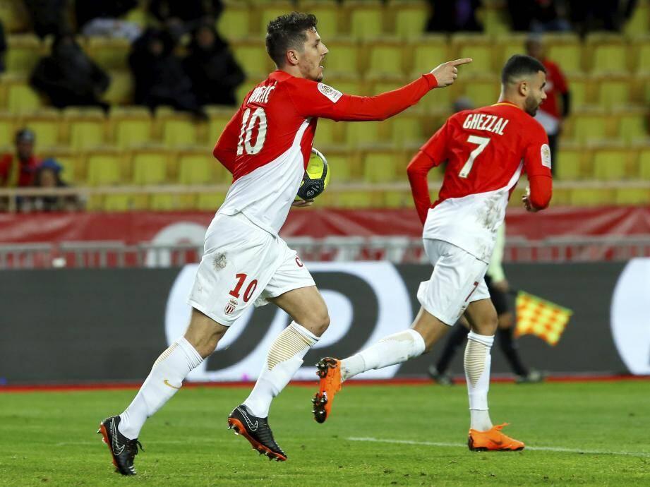 Stevan Jovetic, l'homme en forme 4 buts lors des 4 dernières journées.