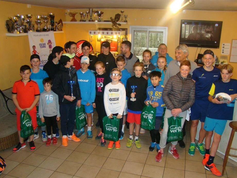 Le tournoi jeunes avait été décalé d'une semaine en raison des intempéries.