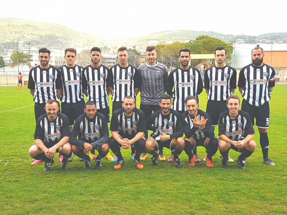 Les footballeurs dracénois méritaient incontestablement mieux face aux leaders du championnat.