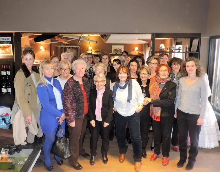 Les femmes du Pays de Fayence à l'honneur au Vol à Voile.