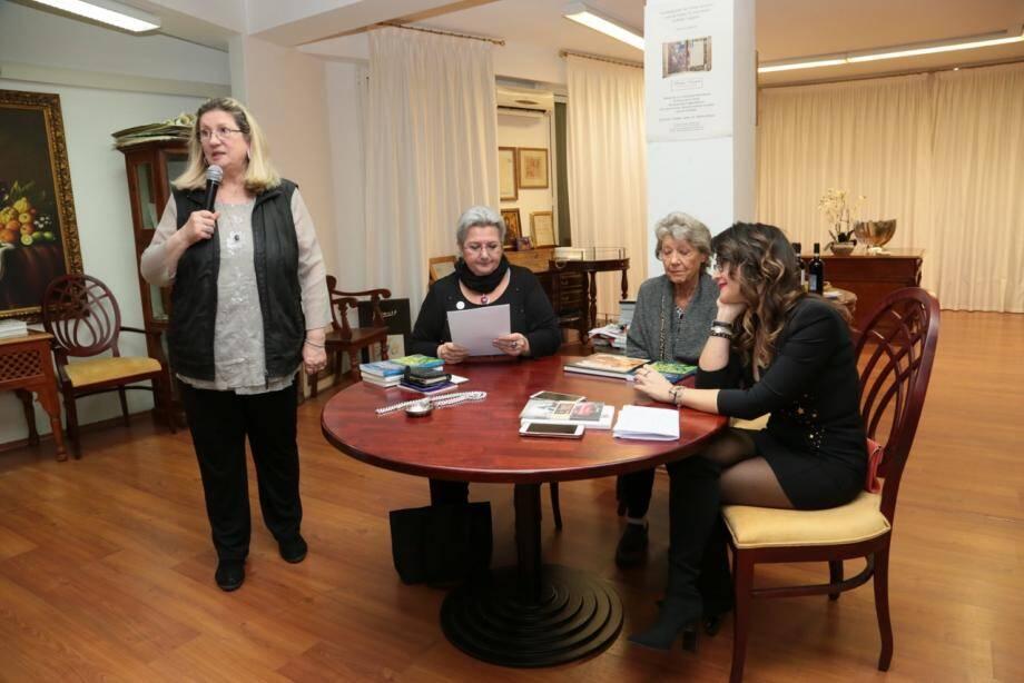 Liana Marabini avait convié trois femmes, professionnelles de l'œnologie.(DR)