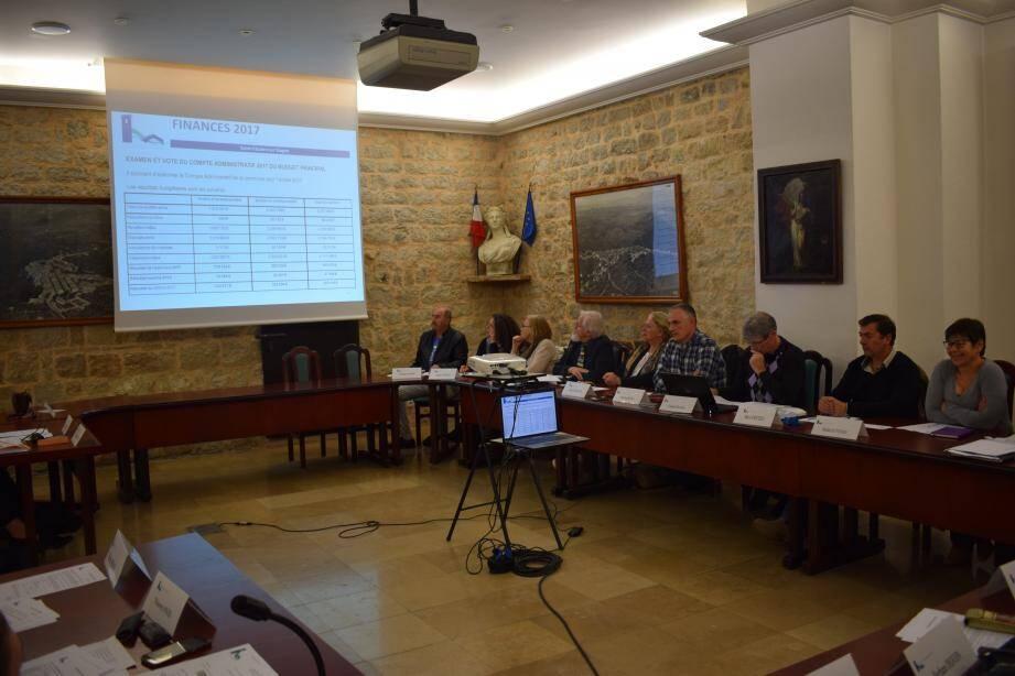 Le conseil municipal s'est penché sur les finances de l'année écoulée, avant un prochain conseil pour voter le budget, le 11 avril prochain.