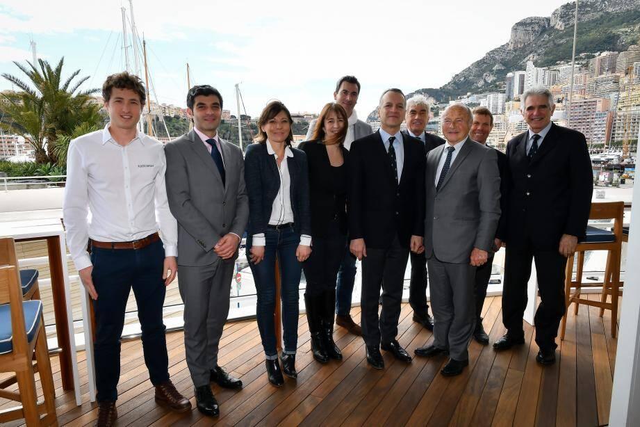 Monégasques et Tropéziens se sont retrouvés au Yacht-Club de Monaco pour tisser des liens plus étroits en matière d'innovation dans le yachting.