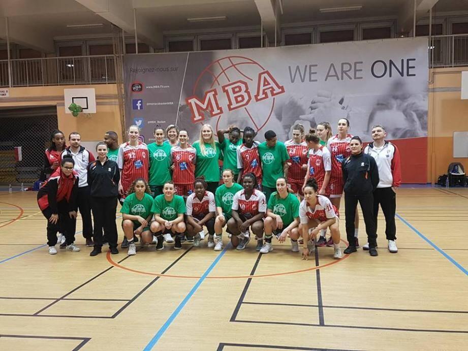 Dans un gymnase de l'Annonciade plein et paré de vert, les joueuses du MBA ont tenu une mi-temps avant de s'écrouler face à La Tronche Meylan (60-80), samedi soir.