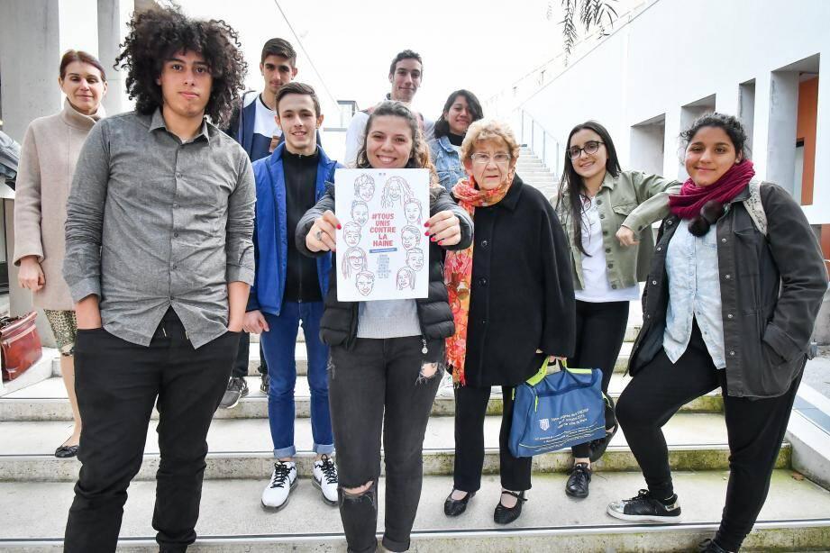 Des lycéens motivés pour lutter contre la haine et le racisme
