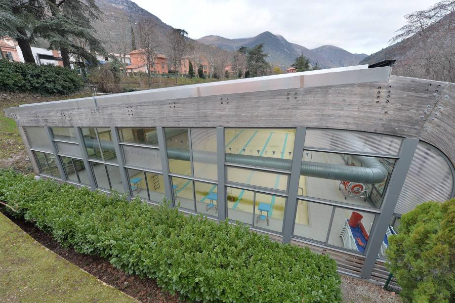 La piscine de Breil avait ouvert - dans sa version couverte - en 2011.