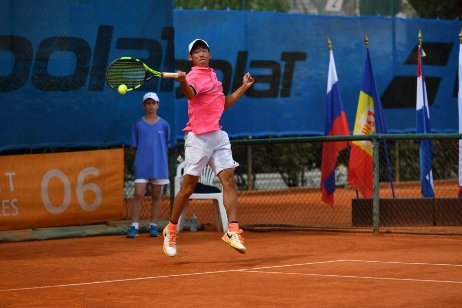 C'est désormais le  « Tournoi ITF Junior de Cap-d'Ail-Alpes-Maritimes » grâce à un partenariat avec le Conseil départemental.(DR)