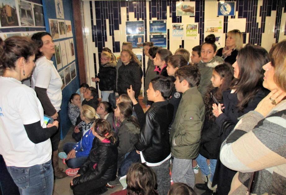 La journée mondiale de l'eau a été relayée par le Sicasil, comme chaque année, à l'usine de Nartassier.