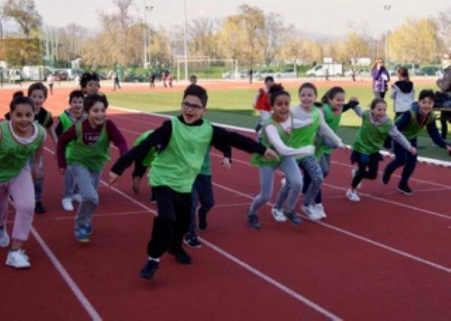 Les élèves Mandolociens ont participé à cette course solidaire.