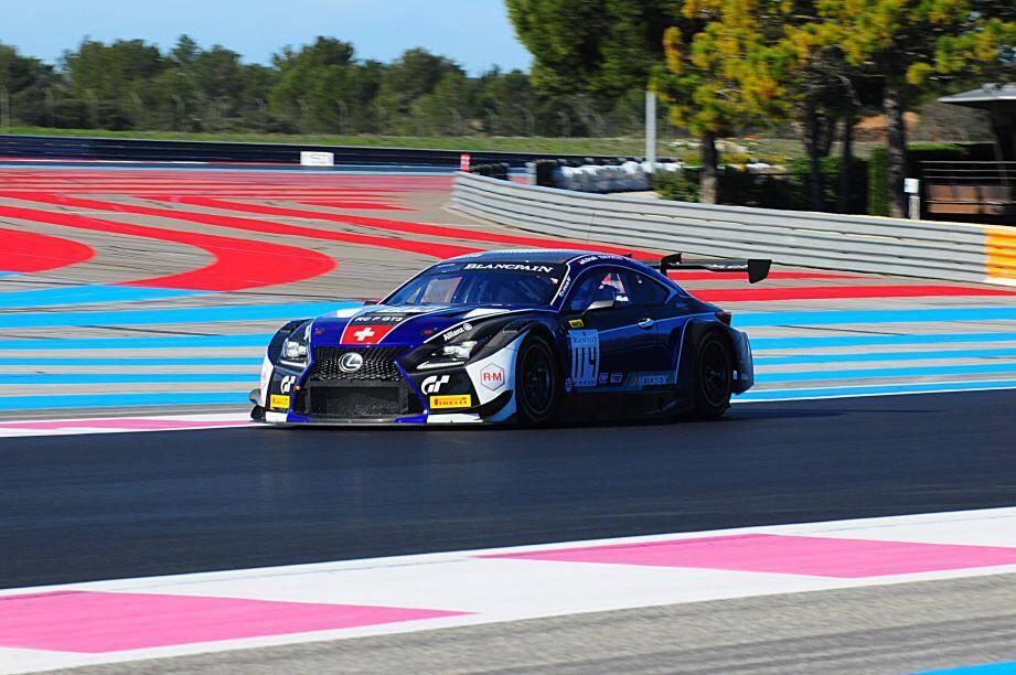 Au volant de cette Lexus RC F GT3 (ici lors de la répétition générale des Blancpain GT Series 2018 au Castellet), Stéphane Ortelli va varier les plaisirs en menant de front Endurance Cup et Sprint Cup. Et en visant haut...