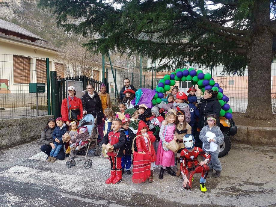 Un carnaval aux couleurs de Saint-Dalmas. (DR)