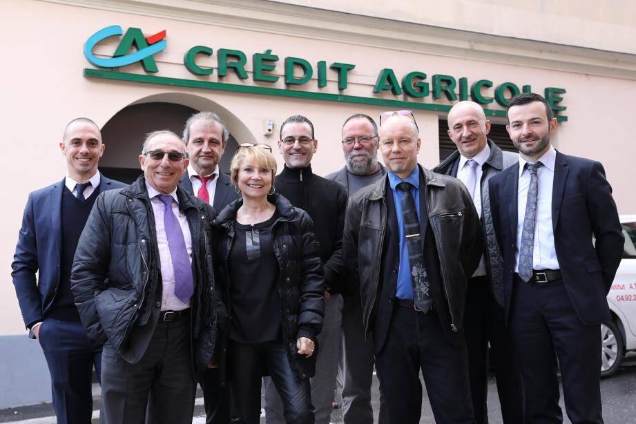 En présence de responsables et collègues du Crédit Agricole, dont le directeur général José Santucci, l'assemblée générale de la Caisse locale du CA a été l'occasion de souhaiter le départ à la retraite de la Sospelloise Sylviane Donadio.