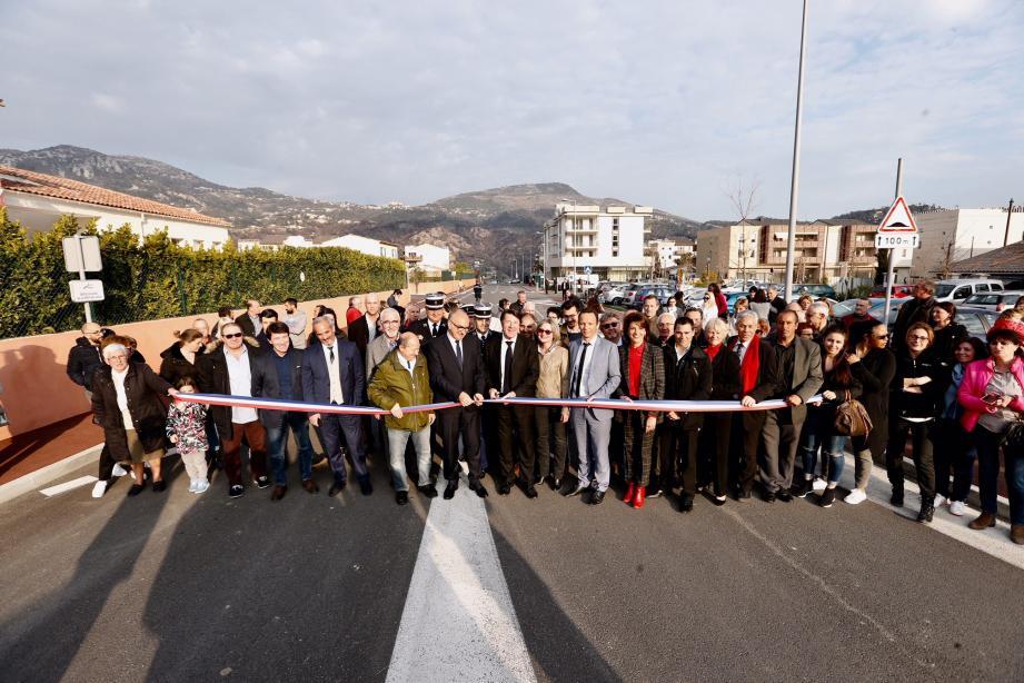 Le boulevard urbain officiellement baptisé «Boulevard de la République» lundi.(D.R.)