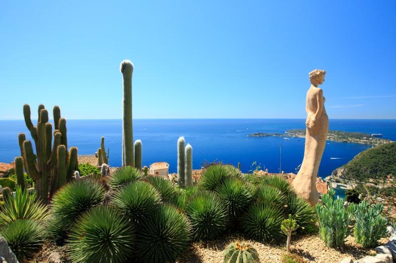 Le Jardin Exotique d'Eze, une destination appréciée des touristes.
