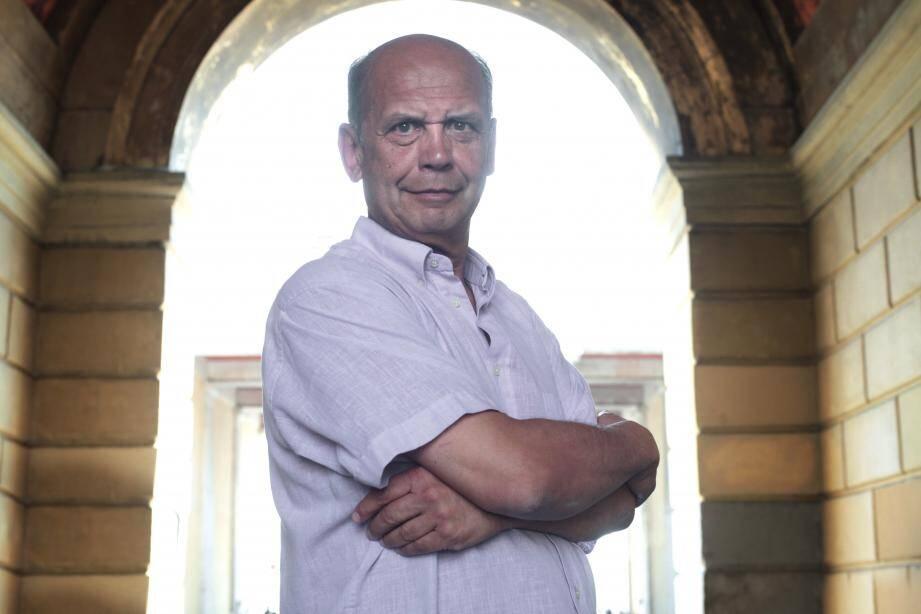 Vladimir Fedorovski lors de son passage au salon du livre de Nice.