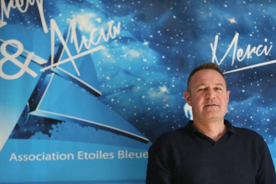 Gilles Bidaut, président de l'association varoise Etoiles Bleues.