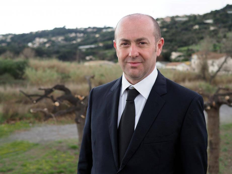 Le maire de La Gaude, Bruno Bettati.
