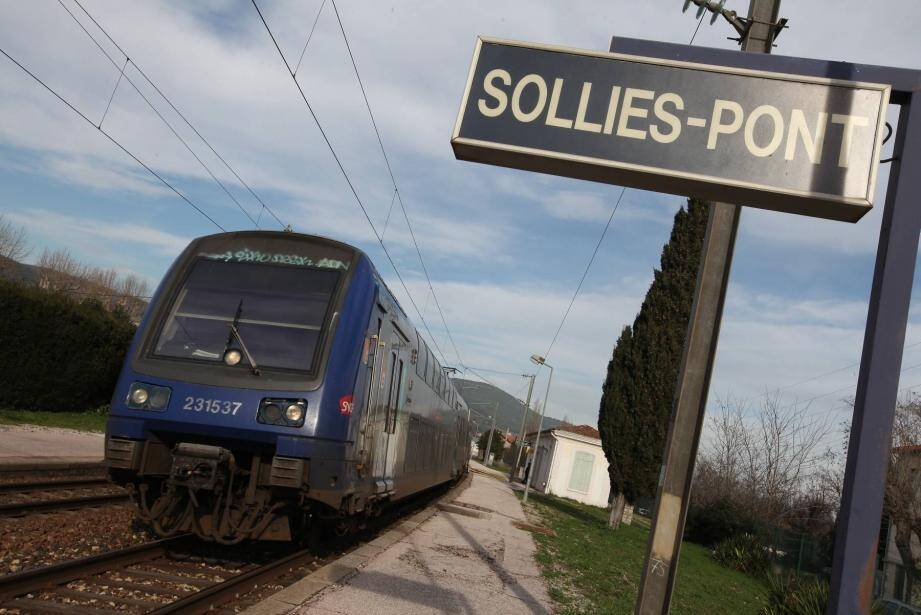 Photo d'illustration gare de Solliès-Pont.