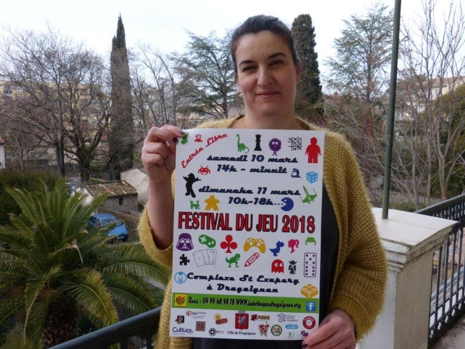 « Ce festival a pour vocation de démocratiser le jeu auprès de tous », indique Stéphanie Blondeau, ludothécaire.