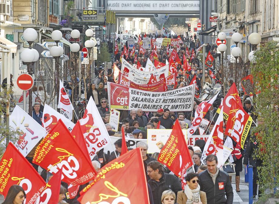 Tous les syndicats ont appelé à la grève, jeudi. On fait le point sur Nice.
