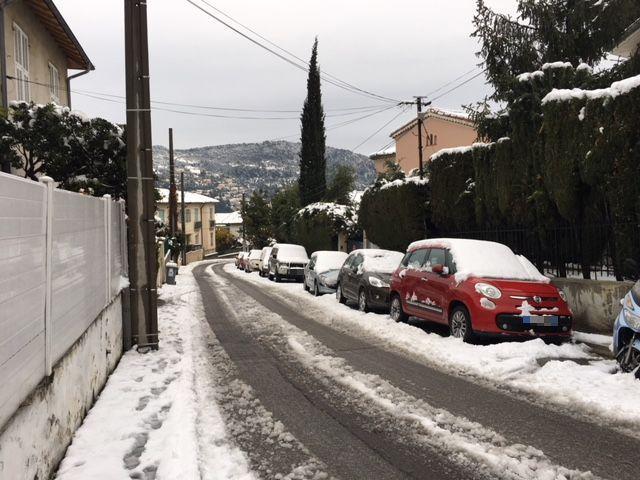 A Cimiez, à Nice.