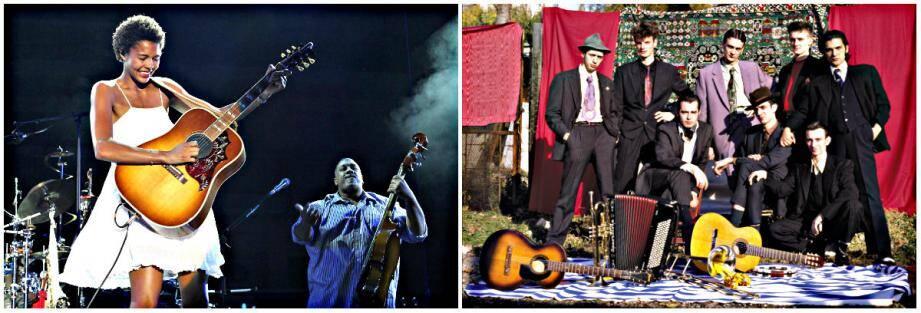 Ayo (à gauche) mettra en scène son répertoire soul, folk et reggae. Les Négresses Vertes fêteront le 30e anniversaire de la sortie de leur premier album
