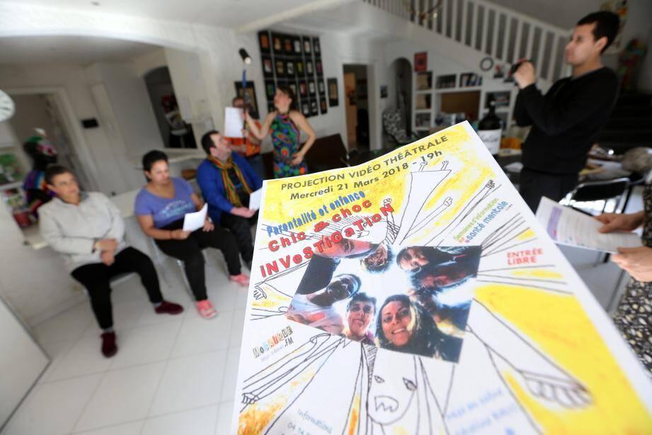 Les patients du foyer d'accueil médicalisé sont devenus des pros de l'impro à Saint-Raphaël.