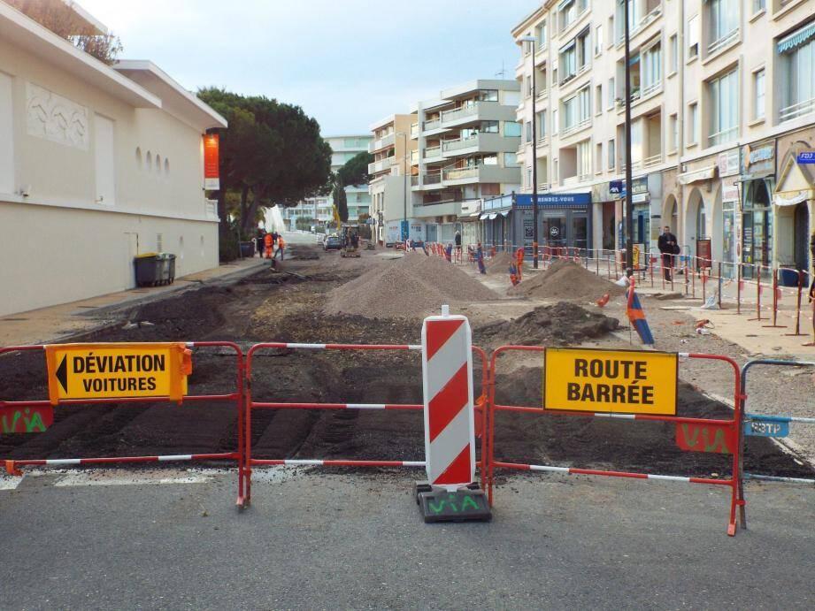Le sens unique de circulation actuellement en vigueur sur l'avenue Charles De Gaulle va être inversé à compter de ce vendredi, sur la portion en chantier.