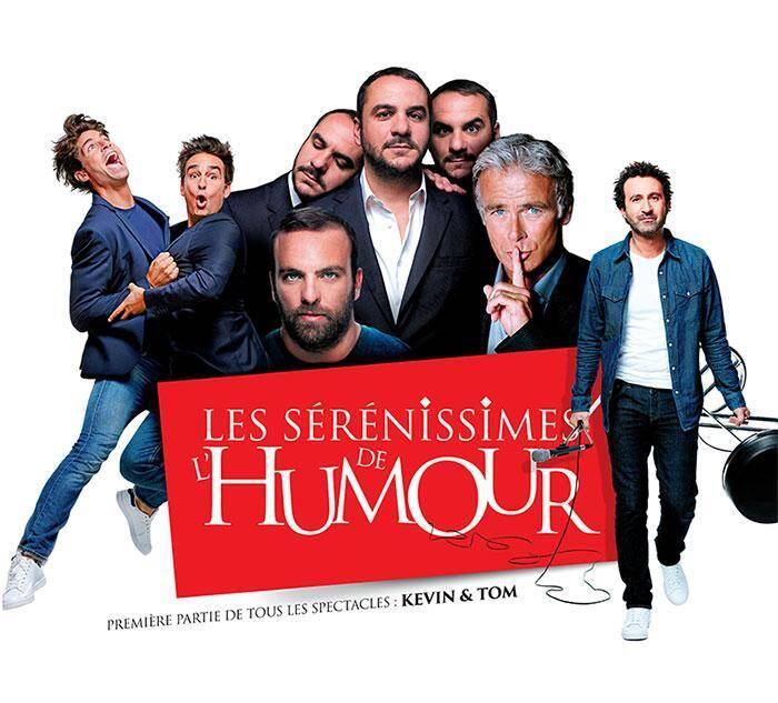 Les Serenissimes de l'humour auront lieu du 21 au 24 mars 2018