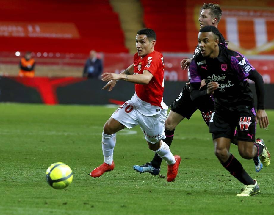 L'AS Monaco s'est imposée face à Bordeaux.