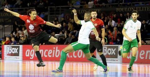 Les Toulonnais (ici Nito) recevront Nantes C'West en coupe de France.