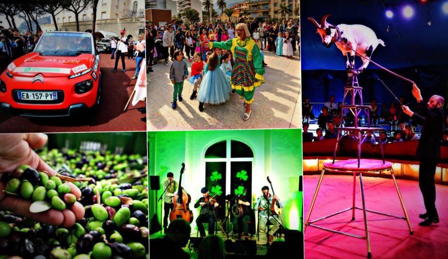 Coup d'envoi de l'E-Gazelle, fête de l'olive à Castellar, des groupes celtes pour fêter la Saint-Patrick,...Il y en aura vraiment pour tous les goûts ce week-end