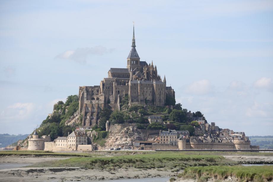 Le Mont Saint-Michel.