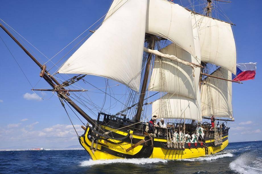 Le navire, La Grace, arrive ce vendredi matin à Toulon.