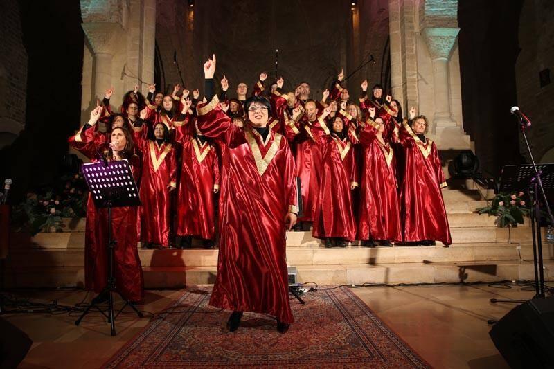 Parmi les groupes invités, le «Family Band Gospel Choir», venu de la province d'Imperia en Italie.DR)