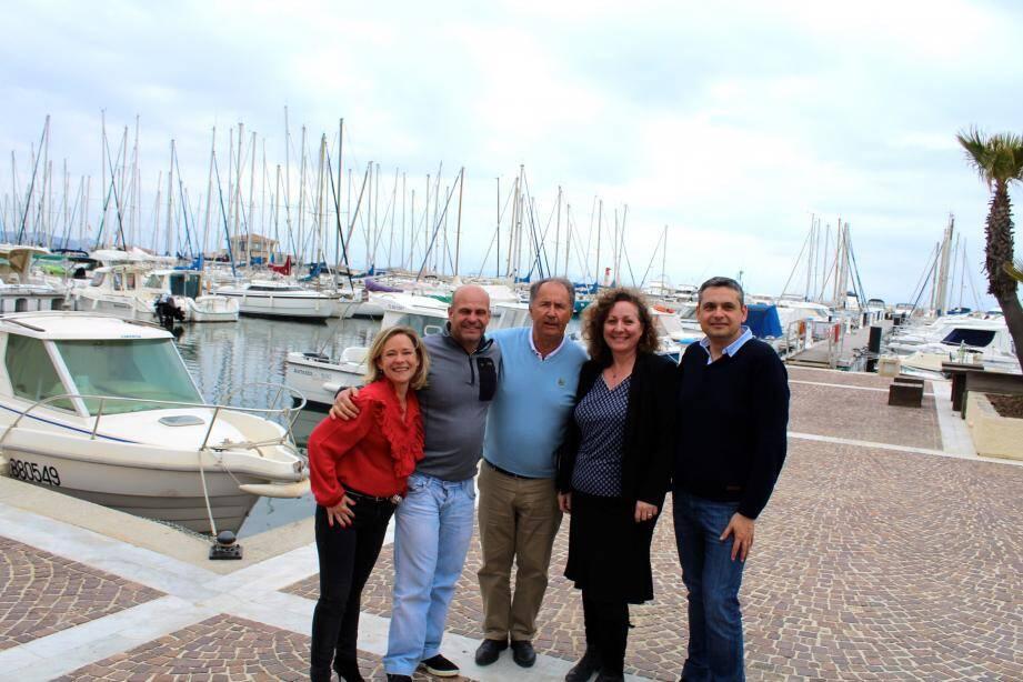 Vendredi, au port de La Londe-les-Maures, le nouveau bureau des Vignerons Londais s'est réuni pour discuter de ses futurs projets.
