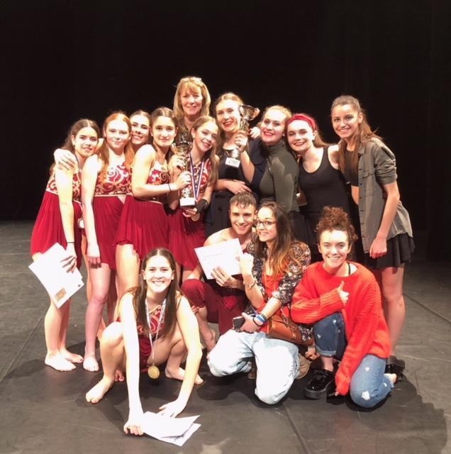 Des jeunes danseuses fières de leur parcours.(DR)