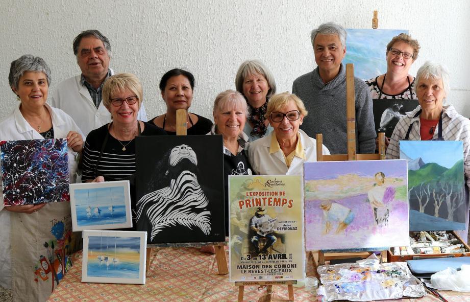 Dix artistes présentent leur travail pour la première fois.
