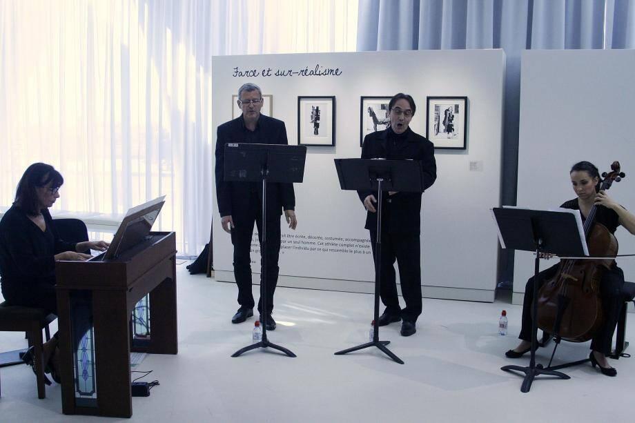 Isabelle Sikora, Michel Géraud, Serge Sola et Chloé Revault ont exprimé tout leur talent à l'occasion de cette rencontre.