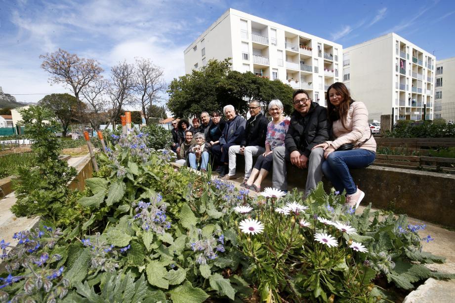 Les jardiniers de la résidence de La Florane, située en quartier prioritaire de la ville cultivent depuis trois ans « leur» premier jardin partagé sur Toulon.