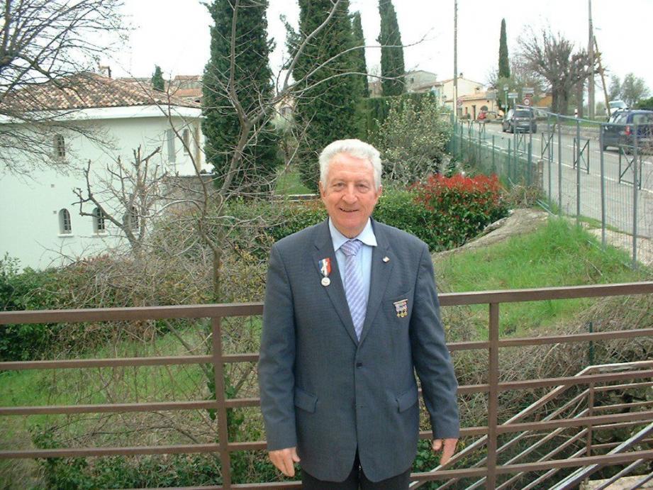 Le président Jean-Pierre Poisson.