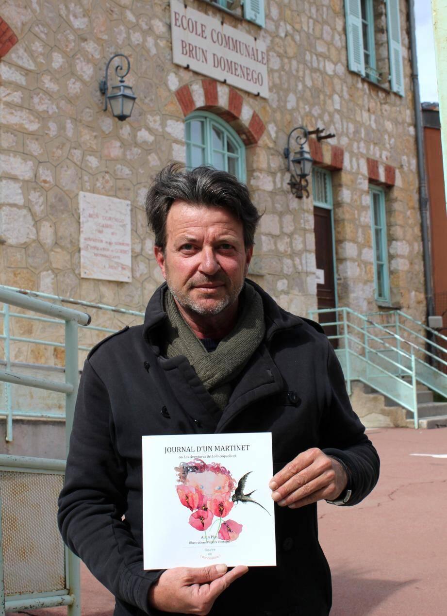Le nouveau livre d'Alain Plas est à découvrir.
